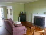Living room, a bit blurry